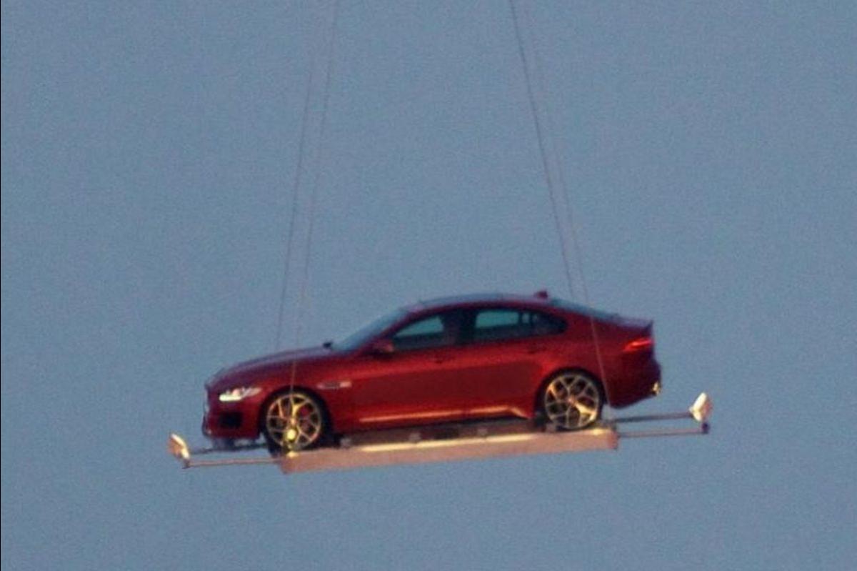 Jaguar XE First Image