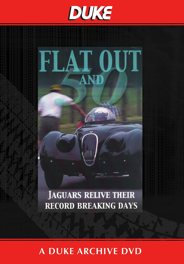 Flat Out And Fifty - Jaguars at Jabekke DVD
