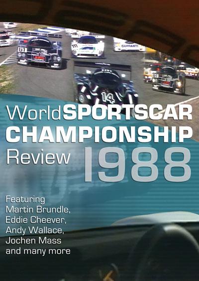 World Sportscar Championship Review 1988 DVD