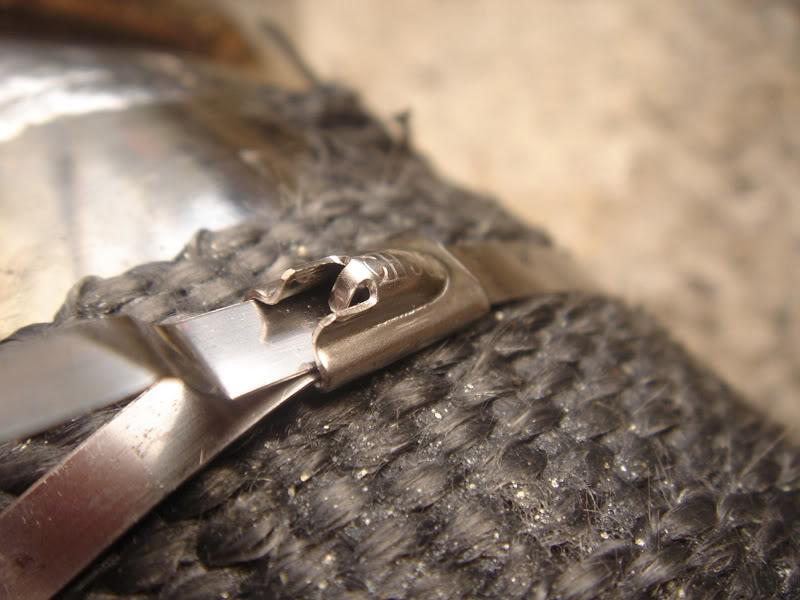 """Stainless Steel Locking Ties 8"""" 8 pack"""