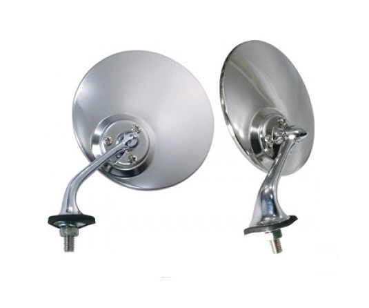 Lucas Style Stainless Steel Mirror