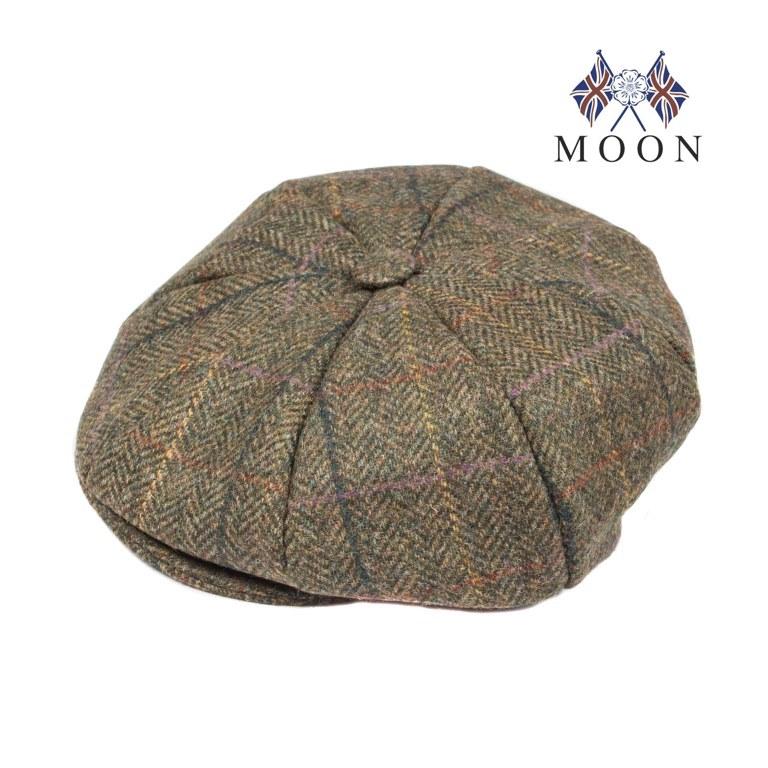 Abraham Moon Yorkshire Tweed 8 Piece Cap