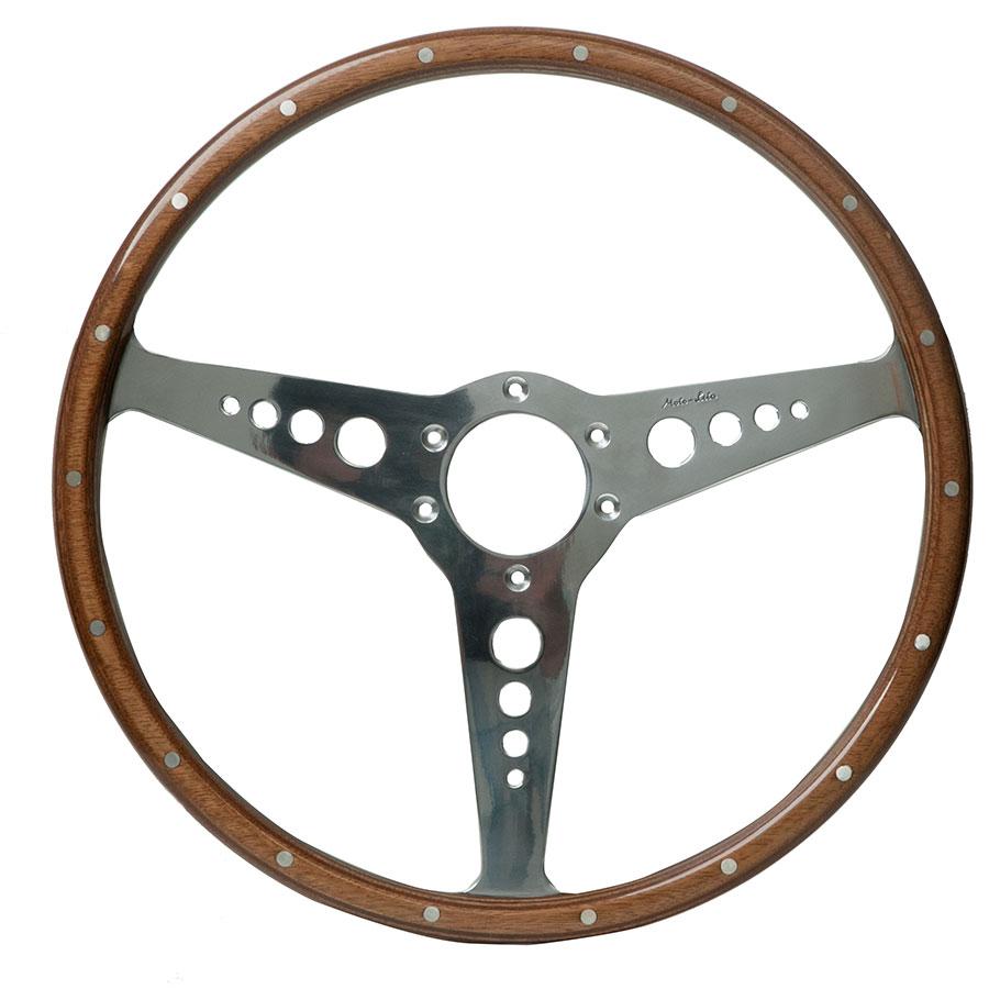 Moto-Lita Jaguar XKE Type - Custom Wood Rim