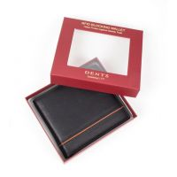 Leather Wallet and Removable Card Holder