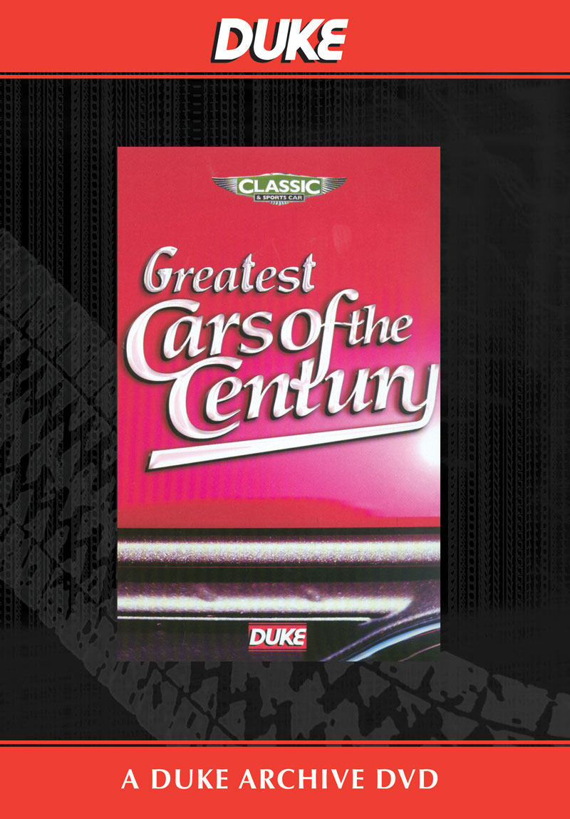 Greatest Cars of the Century DVD