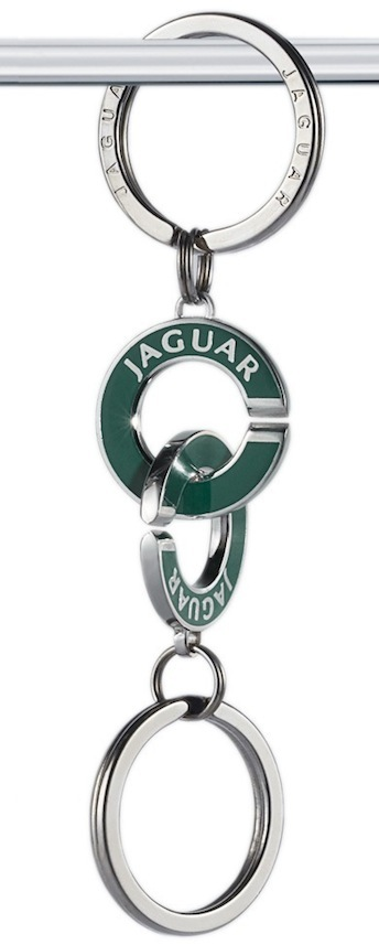 Jaguar Valet Keychain
