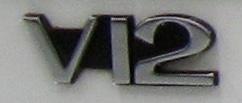 V12 Boot Badge