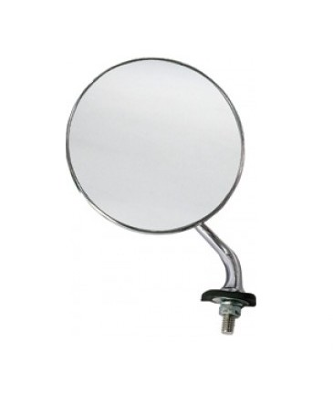 Lucas Style Stainless Steel Wing Mirror