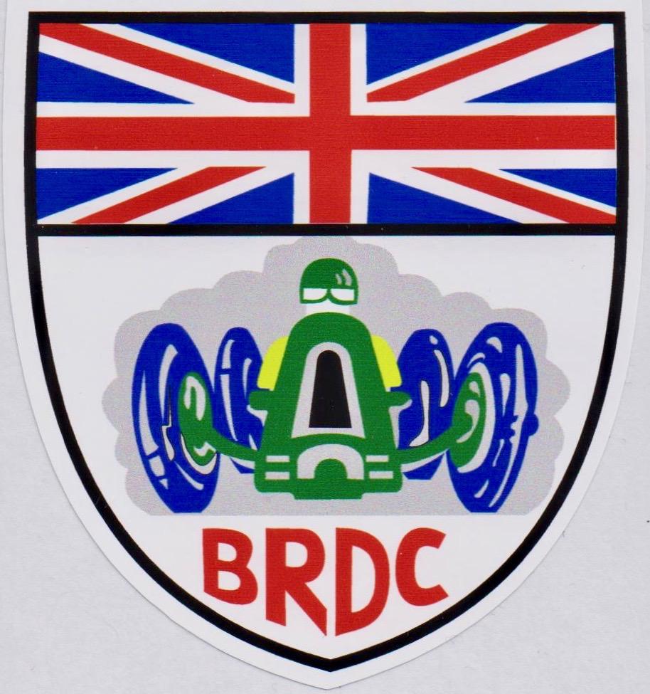 BRDC Shield Sticker