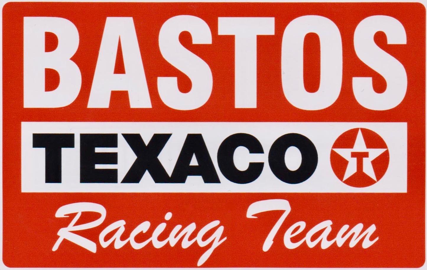Texaco Bastos Racing Team Sticker