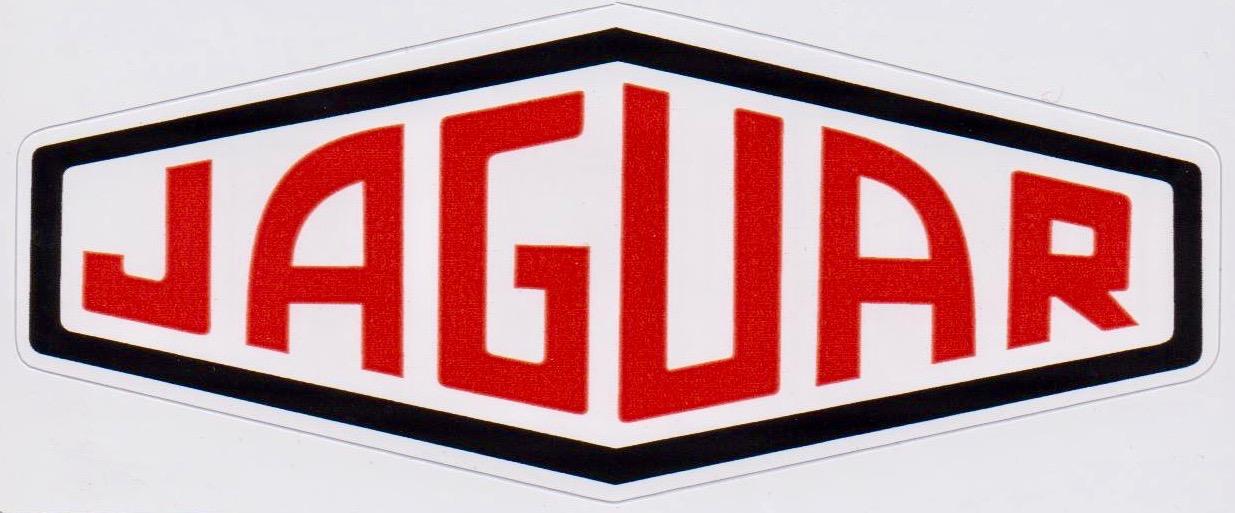 Jaguar Lozenge Sticker