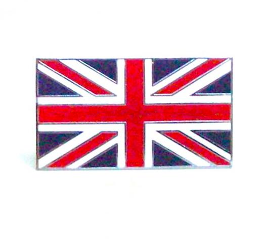 Enamel Union Jack Flag Stick On Badge