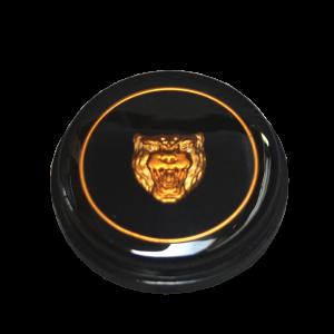 Classic Jaguar Saloon Horn Push Badge