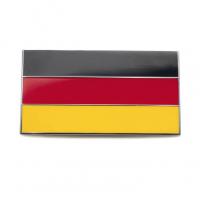 Enamel German Flag Stick On Badge