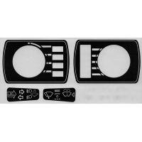 Jaguar Stalk, Lighting and Ignition Decal Set