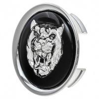 Jaguar Wheel Badge Growler