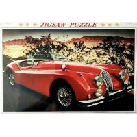 Jaguar XK140 1000 piece puzzle