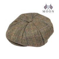 Abraham Moon Yorkshire Tweed 8 Piece Cap