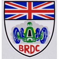 BRDC Shield Sticker