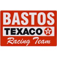 Texaco Bastos Racing Team Sticker