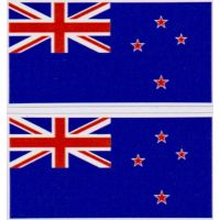 New Zealand Flag Stickers