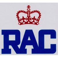RAC Modern Style Sticker