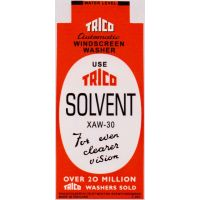 Trico Solvent Washer Bottle Bracket Sticker