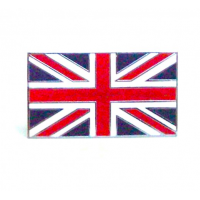 Enamel Union Jack Flag Stick On Badge