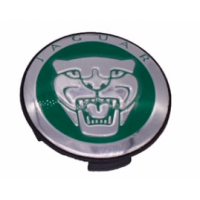 Jaguar Wheel Badge Green