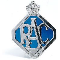 RAC Metal Badge