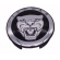 Jaguar Wheel Badge Black