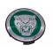 Jaguar Wheel Badge Green